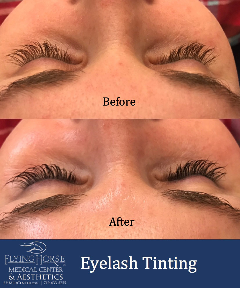 FHMC Eyelash Tinting Additional Services