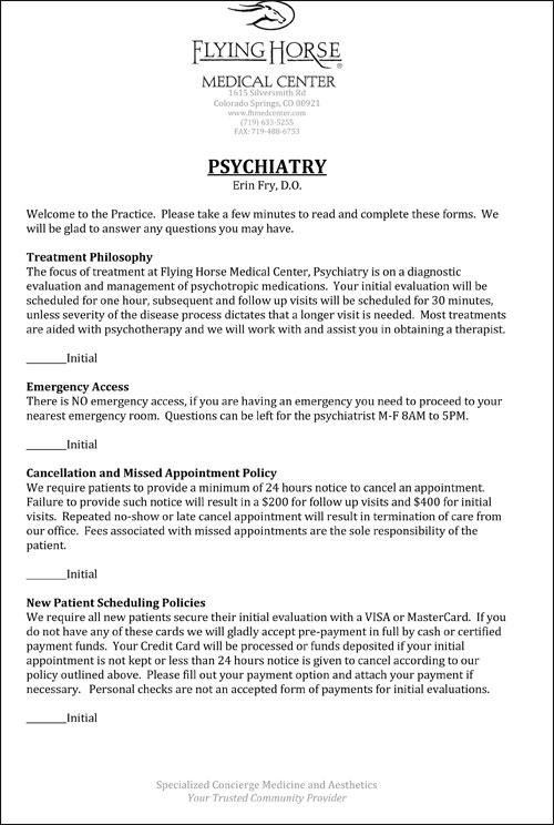 FHMC Psychiatric Care Services